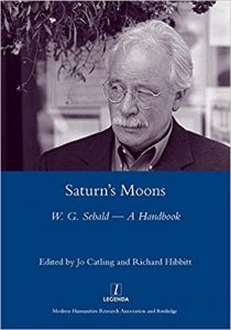 Saturn's Moons Sebald Handbook Cover